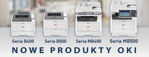 Nowe wydajne drukarki OKI