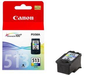 tusz kolorowy Canon CL-513 o powiększonej wydajności