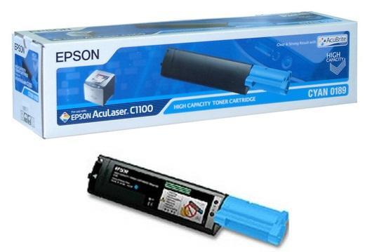 toner cyan Epson C13S050189