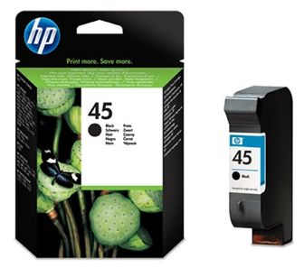 czarny tusz HP 45 51645A
