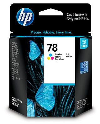 kolorowy tusz HP 78 C6578D