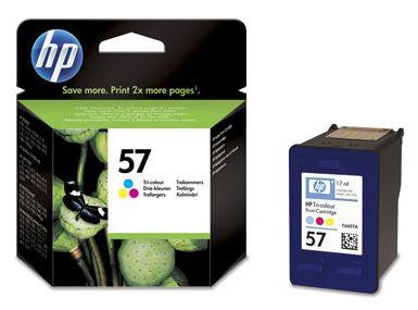 kolorowy tusz HP 57 C6657A