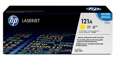 toner yellow HP 121A C9702A