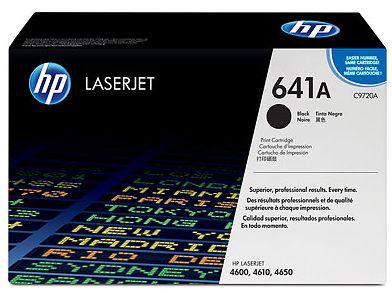 czarny toner HP 641A C9720A