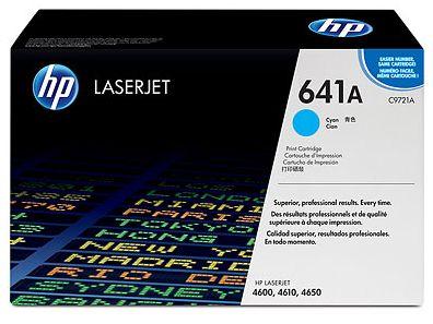 toner cyan HP 641A C9721A