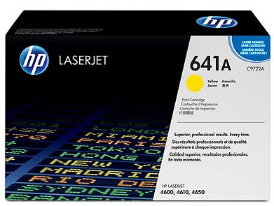 toner yellow HP 641A C9722A
