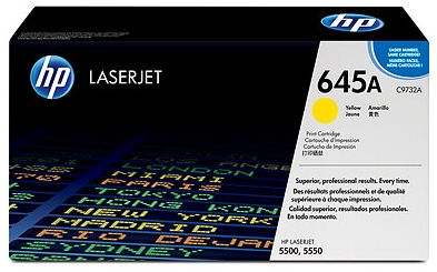 toner yellow HP 645A C9732A