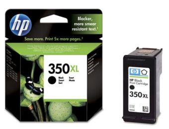 czarny tusz HP 350XL CB336E o powiększonej wydajności