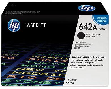 czarny toner HP 642A CB400A