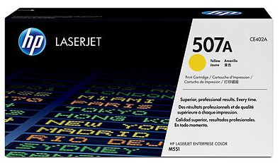 toner yellow HP 507A CE402A