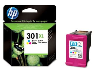 tusz kolorowy HP 301XL CH564E LONG LIFE