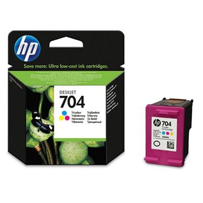 tusz kolorowy HP 704 CN693A