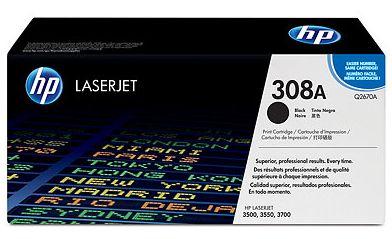 czarny toner HP 308A Q2670A