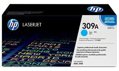 toner cyan HP 309A Q2671A