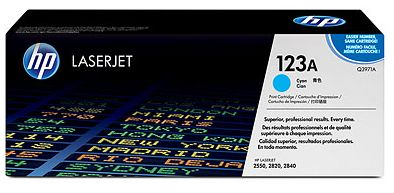 toner cyan HP 123A Q3971A