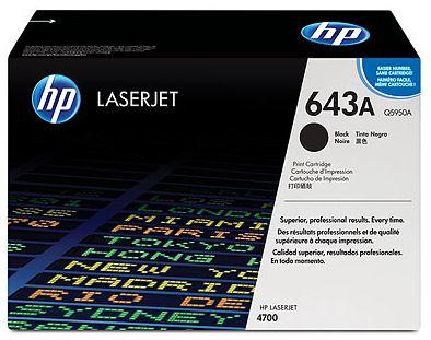 czarny toner HP 643A Q5950A