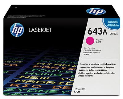toner magenta HP 643A Q5953A