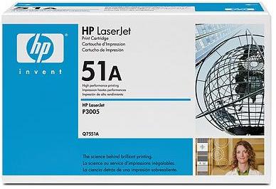 toner HP 51A Q7551A