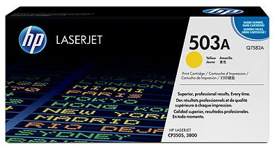 toner yellow HP 503A Q7582A