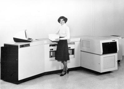 Rys. 2 Pierwsza drukarka laserowa Xerox 9700